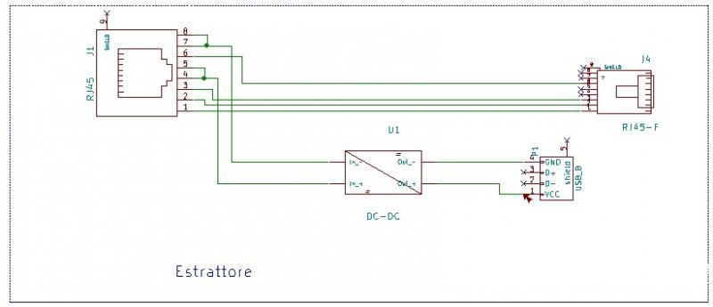 Schema Collegamento Hdmi : Schema connessione cavo ethernet sistemi integrati poh