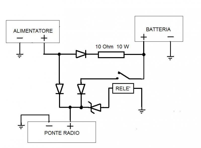 Schema Collegamento Batteria Tampone : Alimentare arduino con batteria